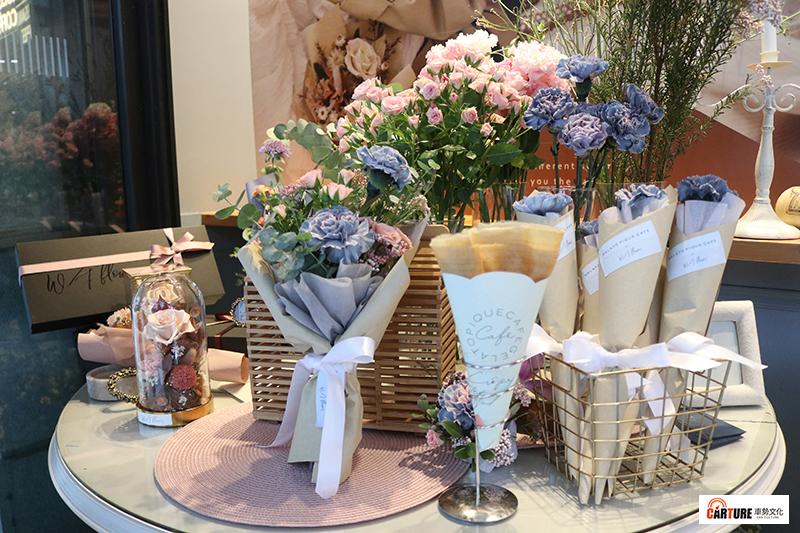 日本法式傳統可麗餅咖啡屋gelato pique café、Wave Flower浪花母親節限時快閃。