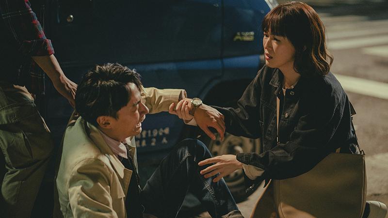 林鶴軒(左)表示,《若是一個人》是他演戲以來,第一次這麼放飛自我的地大哭。