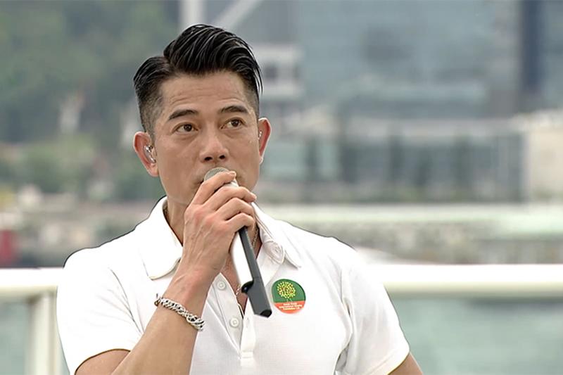 郭富城香港海港城開唱「鼓舞‧動起來網上慈善演唱會」籌募抗疫醫療經費!