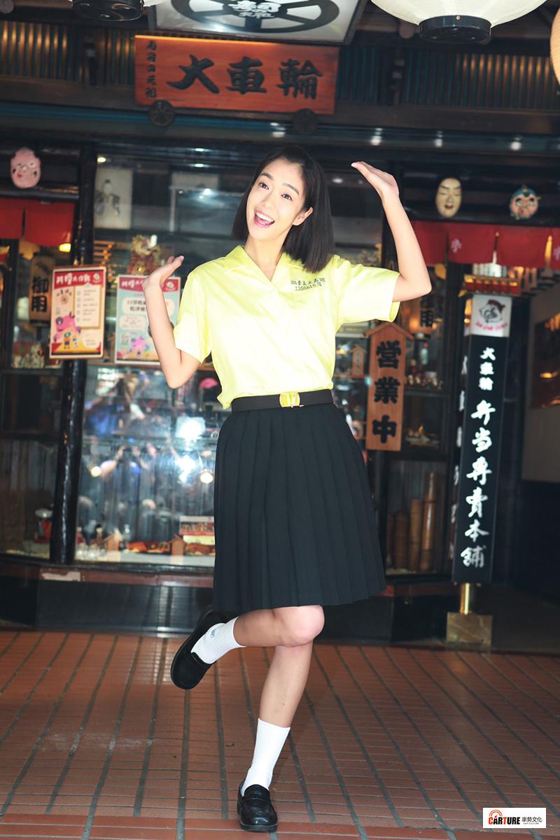 《大債時代》演員李霈瑜飾演詠晴,擔任銀行收款部行員希望能一圓台北買房夢。