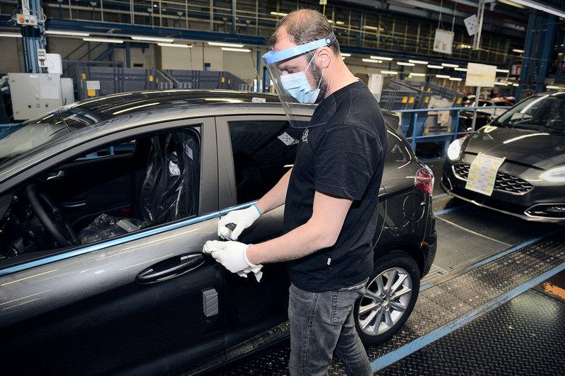 Ford於北美和歐洲等產線以陸續復工,缺車情況將獲得改善。