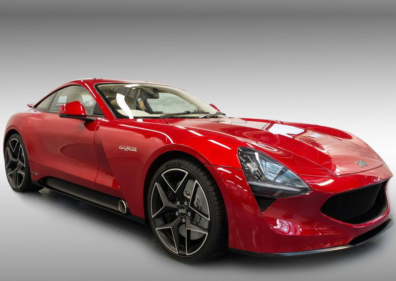 TVR Griffith車頭