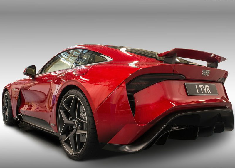 TVR Griffith車尾