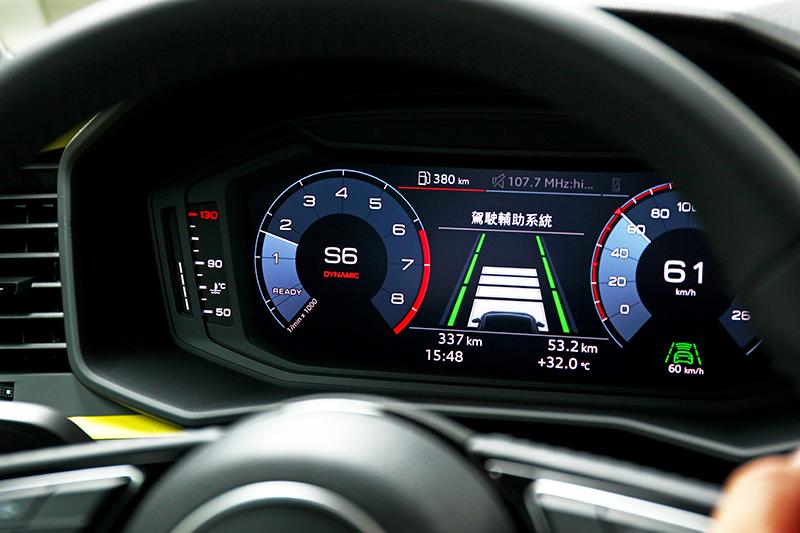 全車系標配全速域ACC主動式定速巡航控制系統。