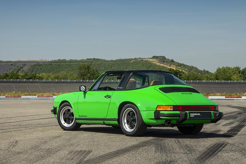 依循前例,進化到第二代與第三代的911 Tagra依舊有著與最初相去不遠的樣貌。