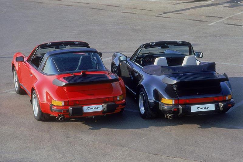 1983年,911總算推出真正的敞篷版本911 Cabriolet,自此911便以Targa與Cabriolet雙線產品滿足不同消費者的喜好。
