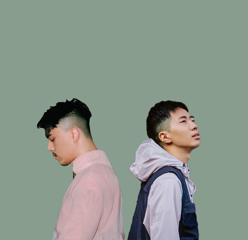 鄭興(右)新專輯《眼淚博物館》,新歌「陽台」揪Hush(左)浪漫對唱。/洗耳恭聽與相知音樂提供