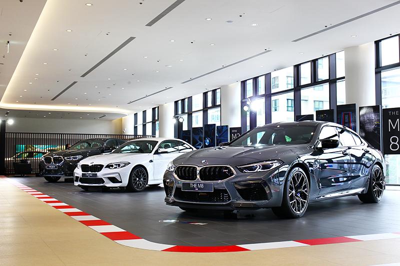 現場有BMW M8與M8 Gran Coupe和X6 M及M2 Competition Conquest Edition。
