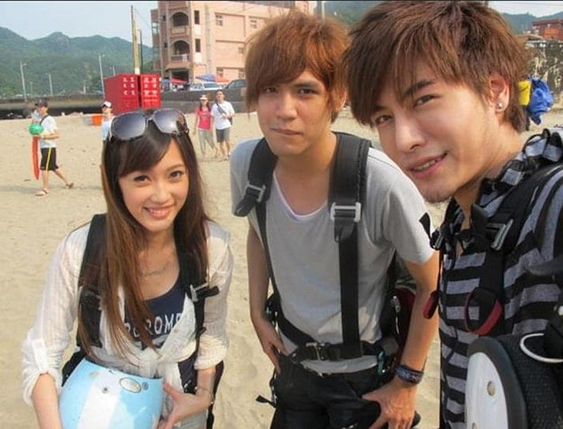 森田(右)和陳零九(中)是相識超過11年的好友。