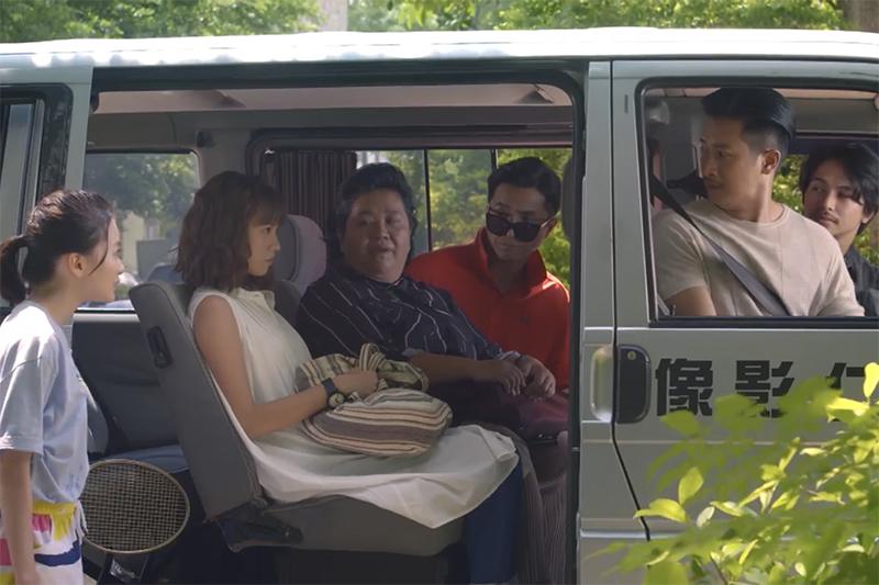 《我的婆婆怎麼那麼可愛》演員詹宛如(左起)、黃姵嘉、鍾欣凌、王少偉、Darren、楊銘威。