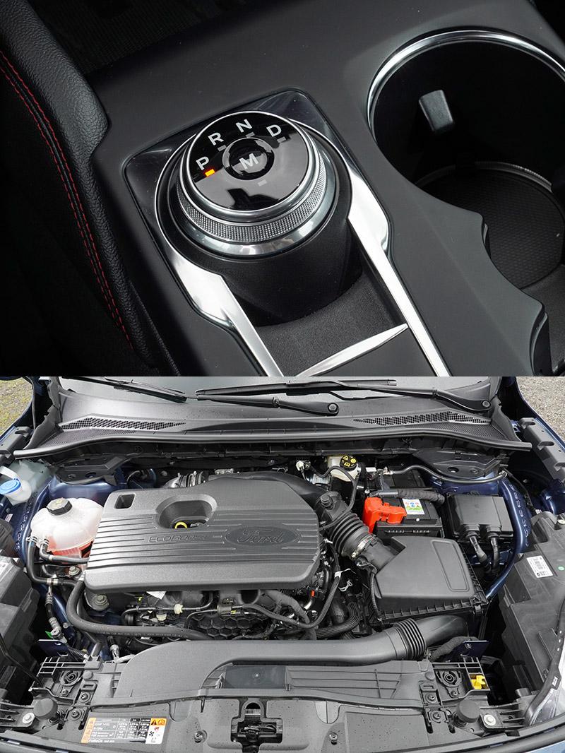 具備250匹最大馬力之2.0升渦輪增壓引擎搭配8速手自排變速系統與四輪傳動系統,賦予Kuga EcoBoost 250 AWD ST-Line優異地動態表現。