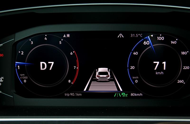IQ.Drive智能駕駛輔助系統帶來的的半自動駕駛,是Tiguan受歡迎的原因之一。