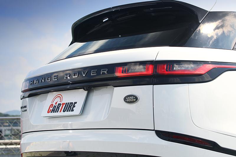 簡潔的收尾筆觸有著一貫的Range Rover風格,過目即難以錯認。