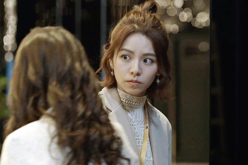 《浪漫輸給你》宋芸樺演出惡毒心機女。