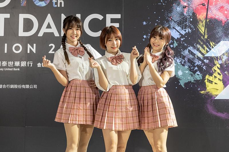 《2020捷運盃街舞大賽》初賽第二日開場表演嘉賓的「L.C.G.勵齊女孩」