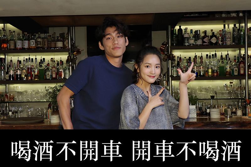 王淨(右)、朱軒洋入圍本屆台北電影獎M