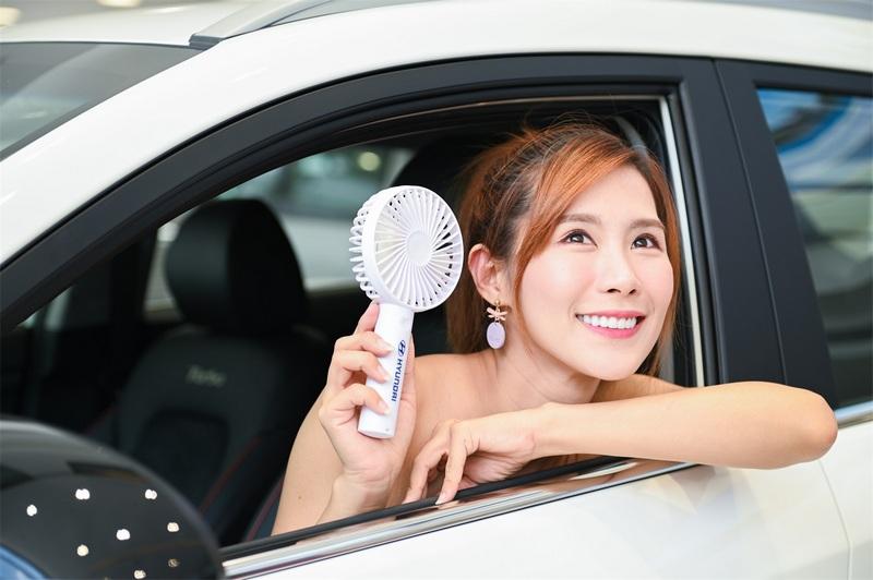 賞車試乘任一車款即送行動電風扇乙支。