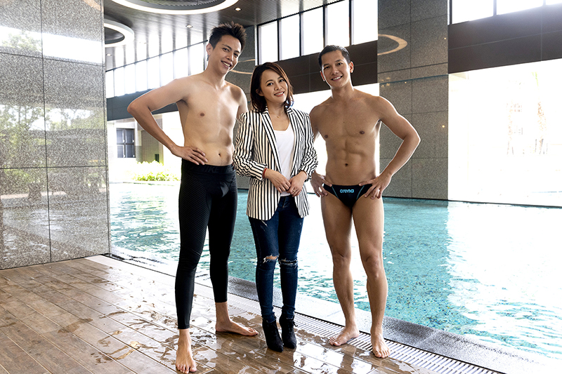 《女力報到最佳拍檔》鲶魚哥(左起)、戴愛玲、梁瀚名首次對戲。