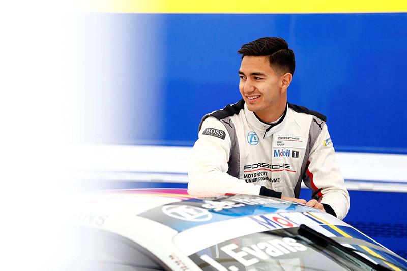 二度以保時捷青年賽車手身分參賽的Jaxon Evans表示:「今年我效力另一車隊,即將迎接非常忙碌的賽季,過去一年的經驗讓我對所有賽道都相當熟悉,更對今年的賽事充滿信心。」