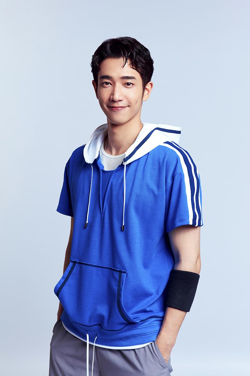 熱愛籃球的劉以豪,25歲時因為僵直性脊髓炎而放棄打球,這次剛好在廣告中重拾籃球魂!