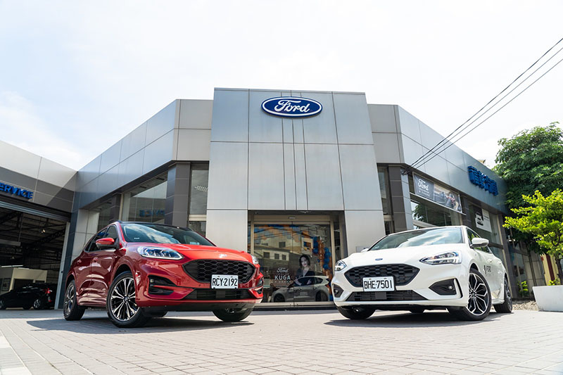 位於中台灣的Ford福彰汽車員林據點展現全新風貌。