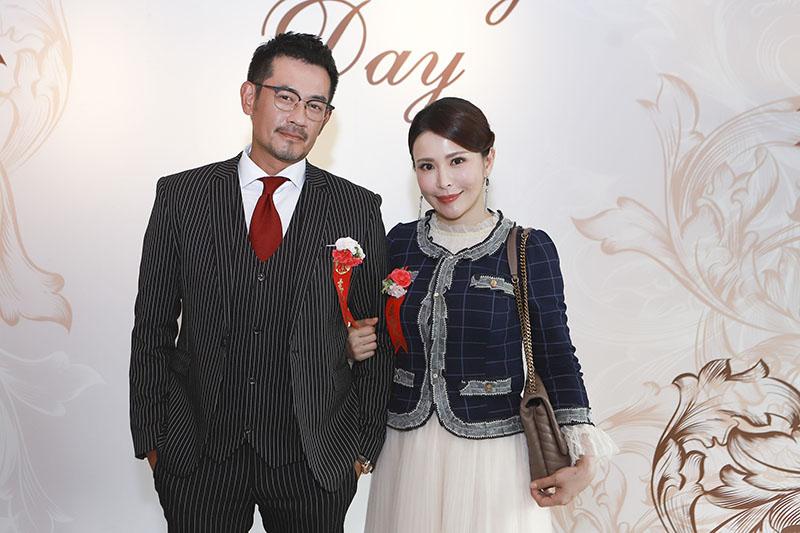 《多情城市》演員柯叔元(左起)、德馨為了重頭戲被下封口令。