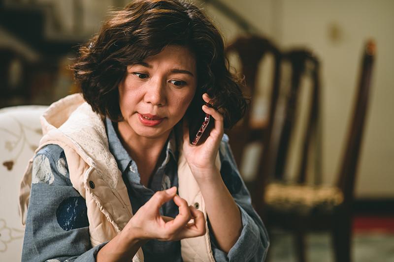 《老姑婆的古董老菜單》演員于子育因蚵嗲念不好被導演猛虧是NG女王。