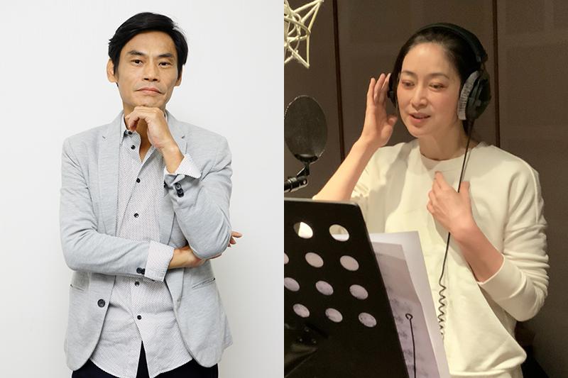 《最後一封情書》劉瑞琪(右)重拾麥克風開唱,與夏靖庭(左)成「靈魂伴侶」。