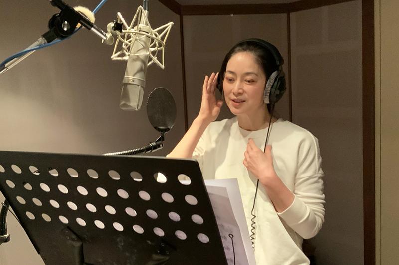 舞台劇《最後一封情書》女主角劉瑞琪表示因曾開刀聲帶受傷,這次演唱高音是最為挑戰的部分。