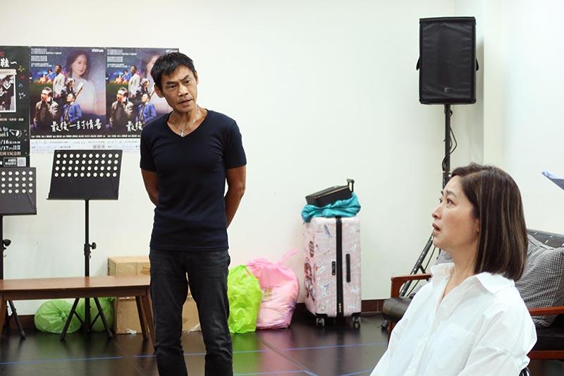 劉瑞琪與夏靖庭於《最後一封情書》再次合作舞台劇。