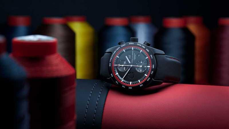 Porsche Design手錶提供多達150萬種組合的客製化服務。