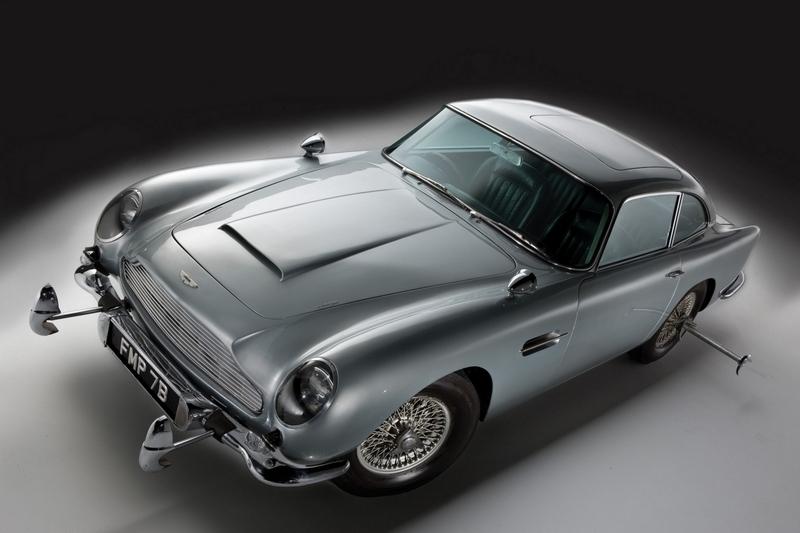 此Aston Martin於2018年便著手計畫重新打造DB5。
