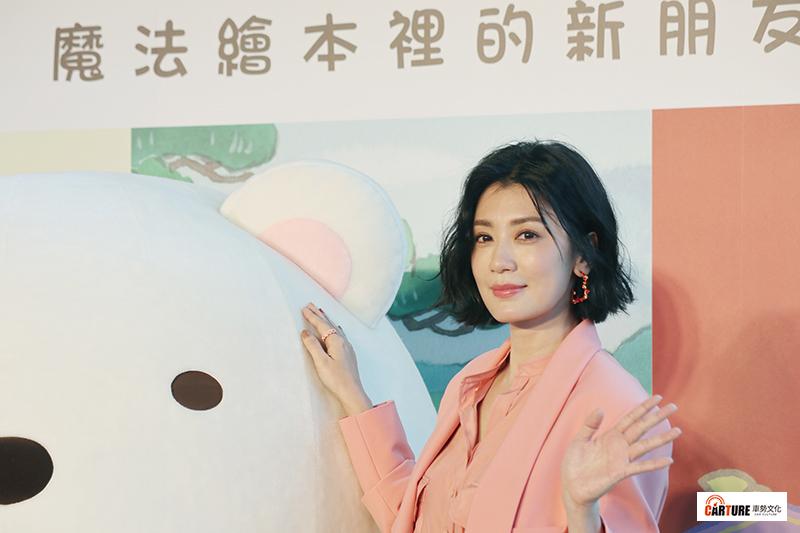 賈靜雯配音《角落小夥伴電影版》,覺得小夥伴的尖叫聲最難詮釋。