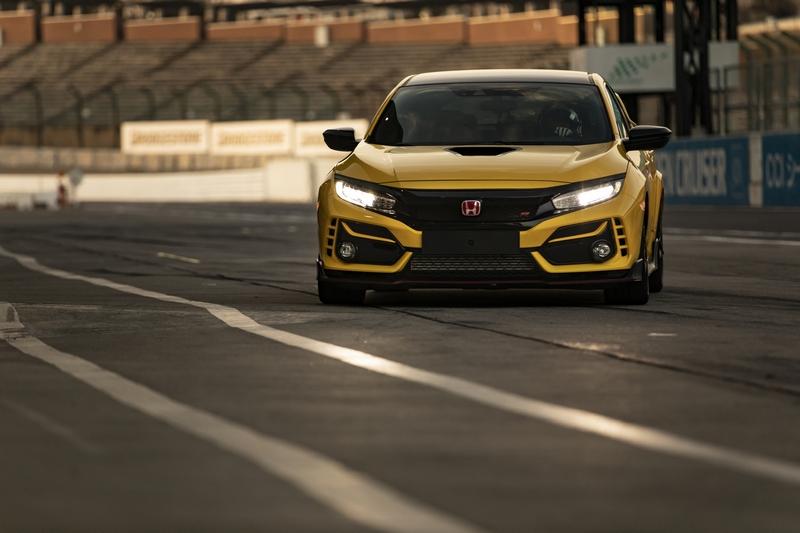 Civic Type R Limited Edition以更輕車重及更出色的操控,再次站上鈴鹿賽道最速前驅。