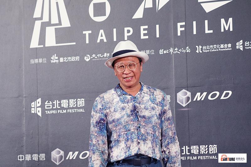 游安順出席2020台北電影節。
