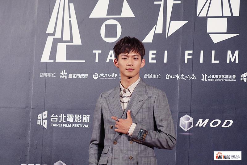 吳念軒出席2020台北電影節。
