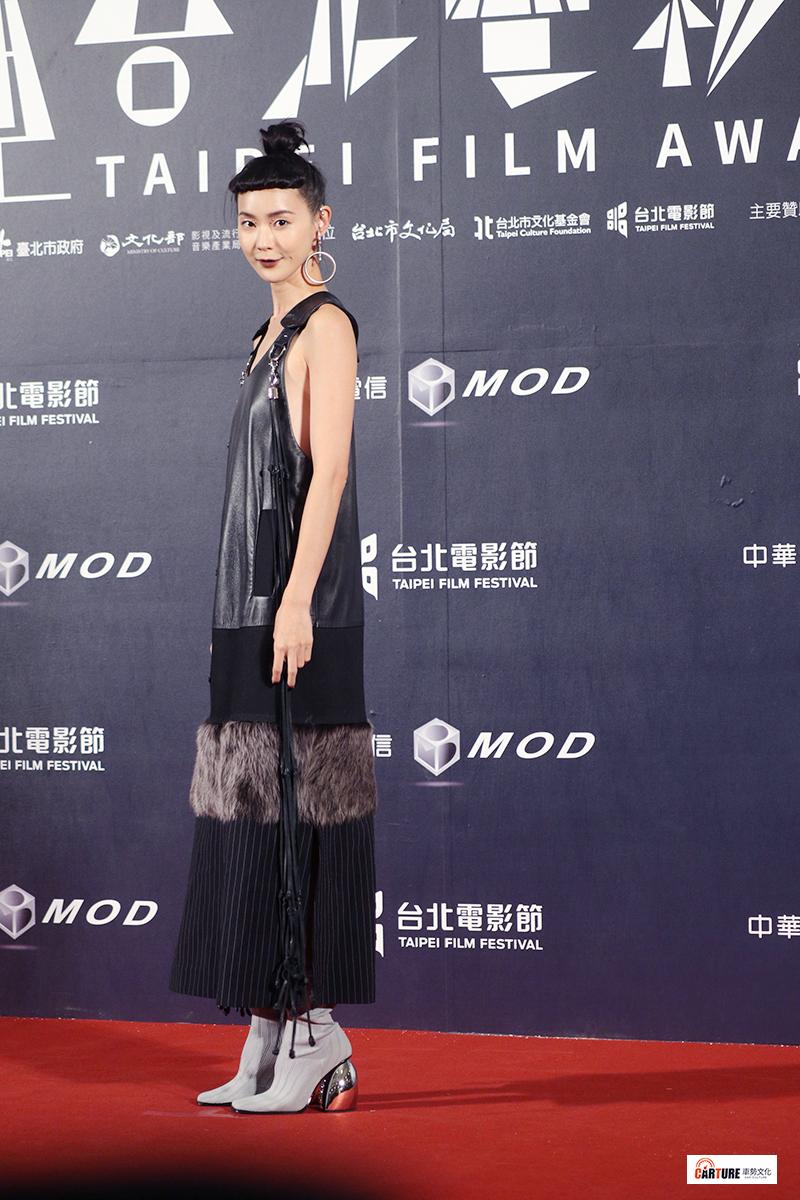 鍾瑶出席2020台北電影節。