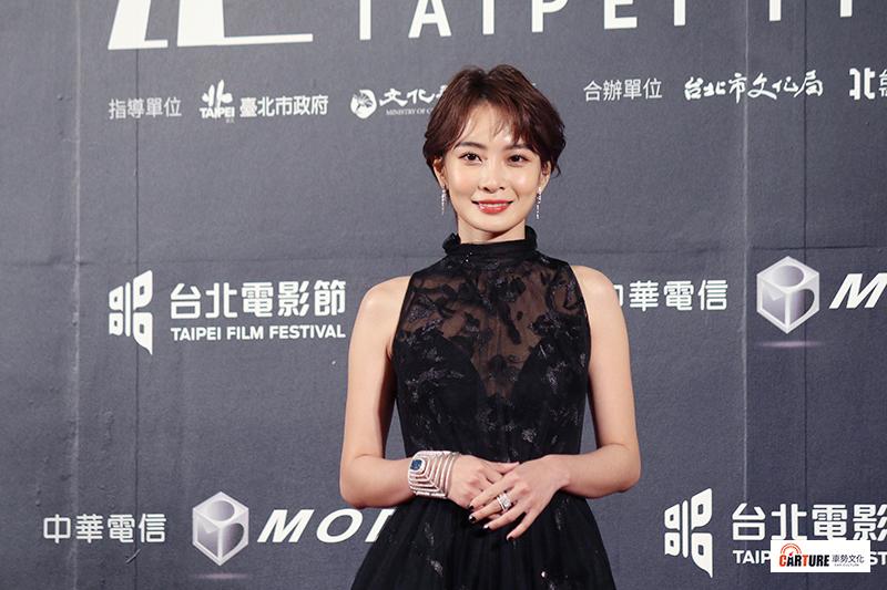 李亦捷出席2020台北電影節。