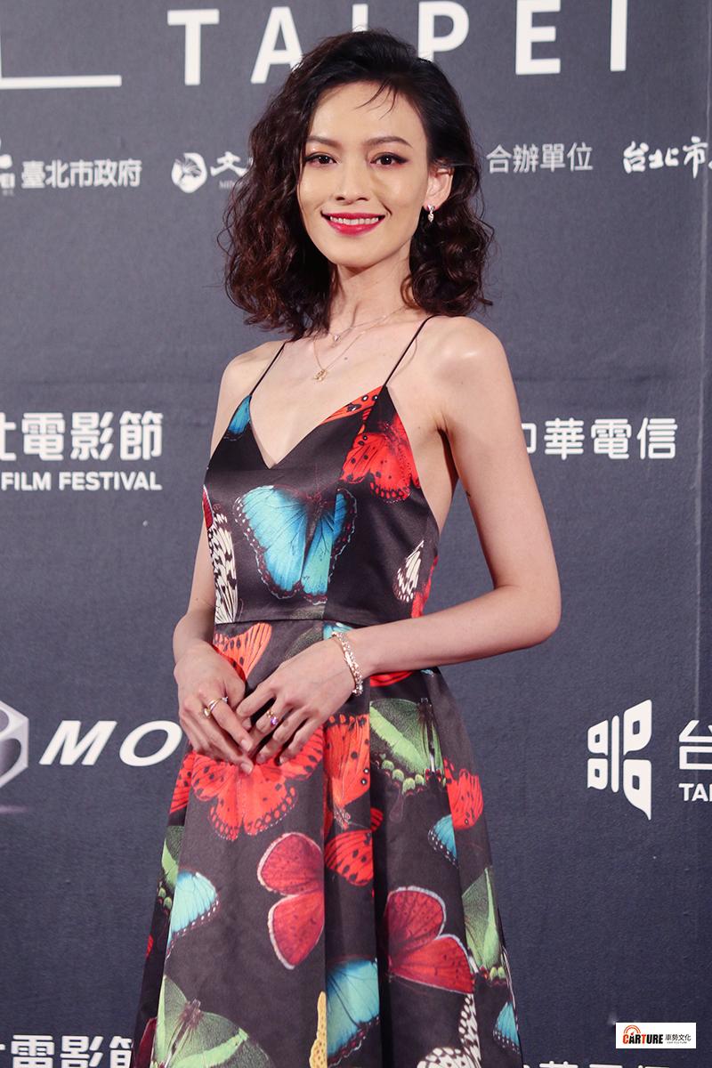 姚以緹出席2020台北電影節。