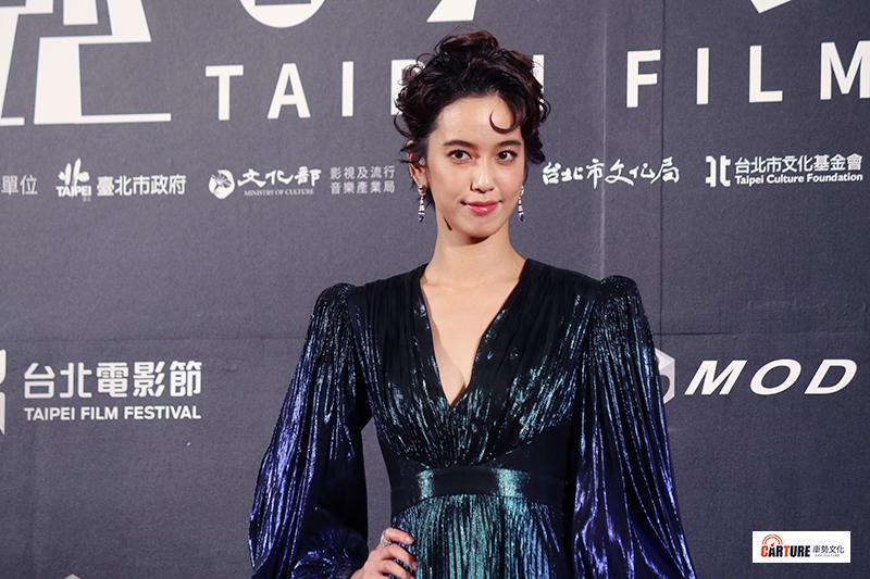 陳庭妮出席2020台北電影節。