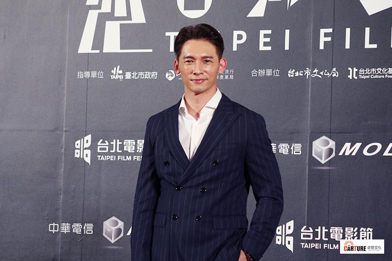 溫昇豪出席2020台北電影節。