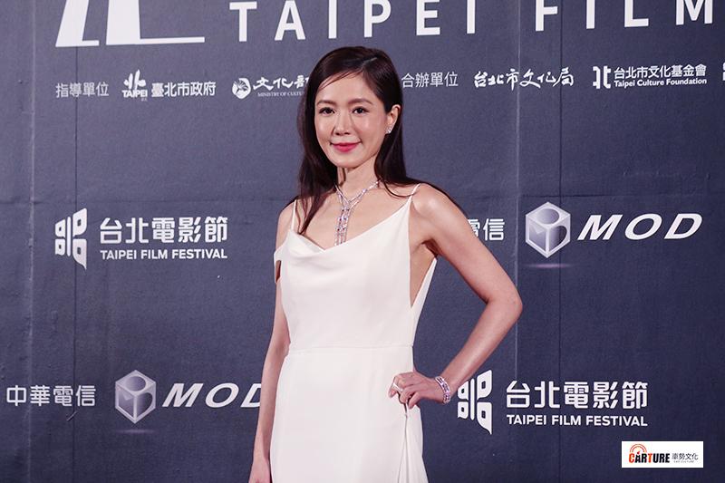 尹馨出席2020台北電影節。