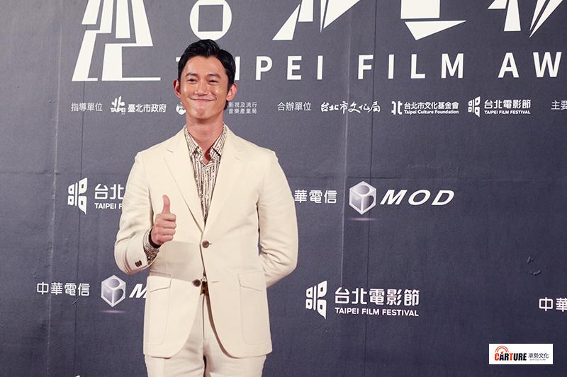 吳慷仁出席2020台北電影節。