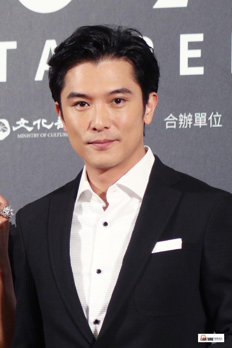 邱澤出席2020台北電影節。