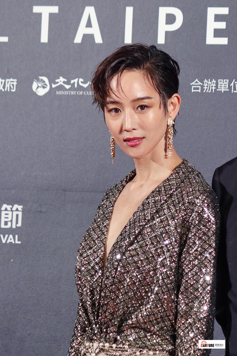 張鈞甯出席2020台北電影節。
