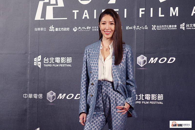 楊謹華出席2020台北電影節。