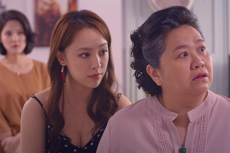 《我的婆婆怎麼那麼可愛》演員鍾欣凌(右)表示勇兔(左)台詞酸到讓她不用演就狂掉淚。(公視提供)