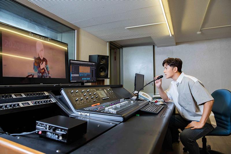 宥勝為卡通動畫《北海小英雄》全新角色獻聲配音。