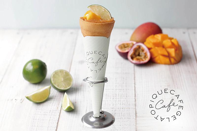 gelato pique café 季節限定新品_芒果百匯可麗餅$200