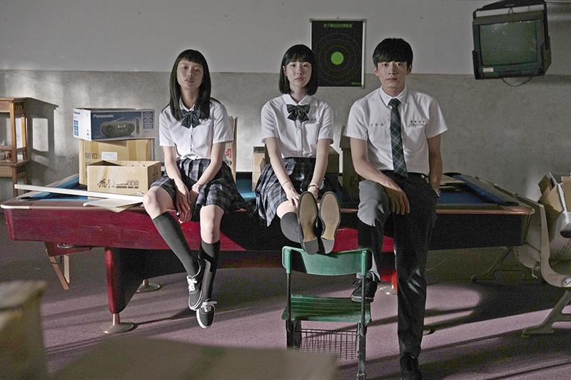 《哈囉少女》主要演員(左起)王渝屏、劉主平、宋柏緯。